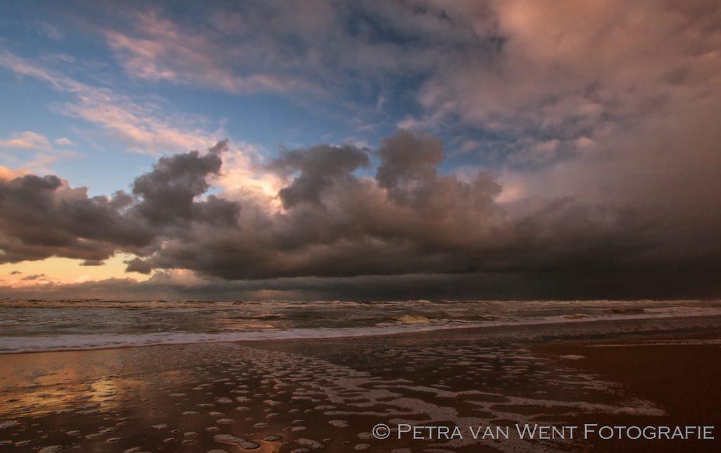 Autumn on the beach Foto: Petra van Went